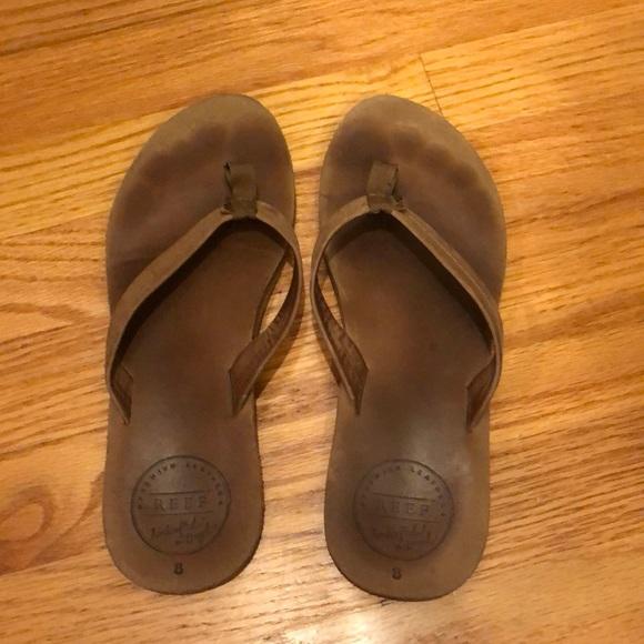 Leather Reef Poshmark Flops ShoesWomens Flip TFK3Jl1c